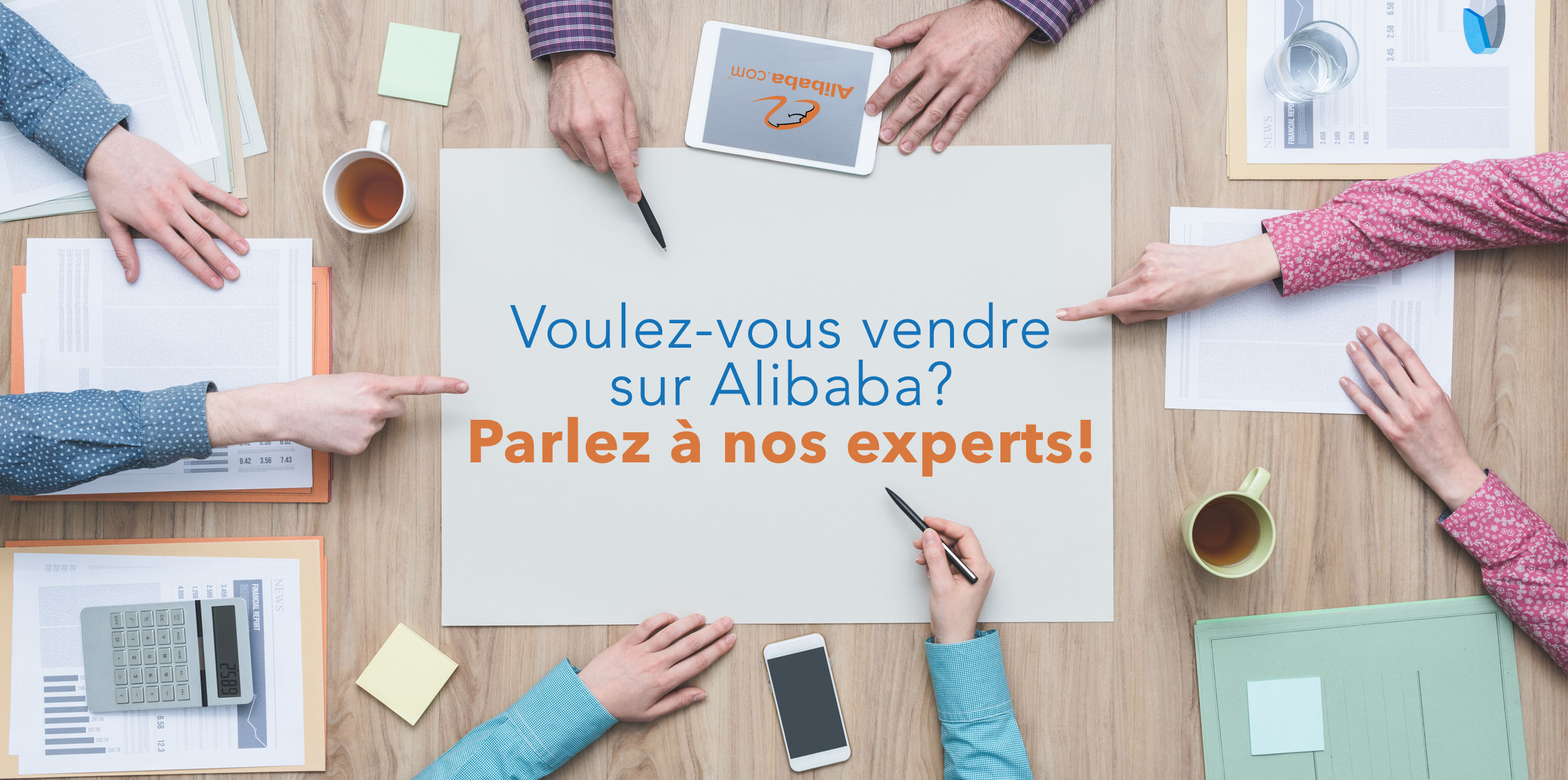 , Service d'experts Alibaba
