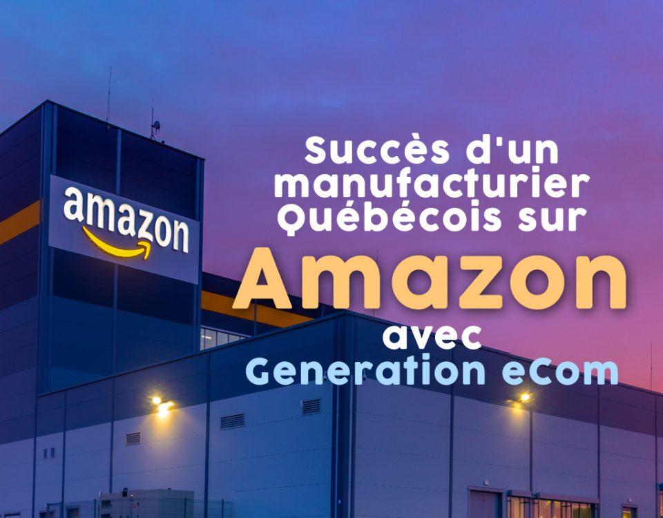 Vendre sur Amazon, Vendre sur Amazon : Un manufacturier québécois de suppléments naturels liquides voit ses ventes propulsées grâce à Amazon